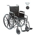K1 Premium Wheelchair with Padded Seat and Arm Rests