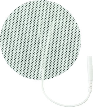 "3"" Round White Cloth Electrodes (TYCO Gel)"