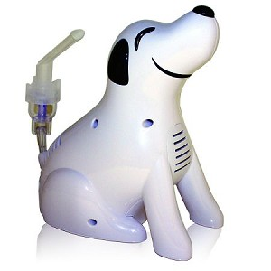 Pediatric Puppy Dog Nebulizer System - Children's Aerosol Therapy