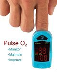 LED Finger Pulse Oximeter - Easy to Use