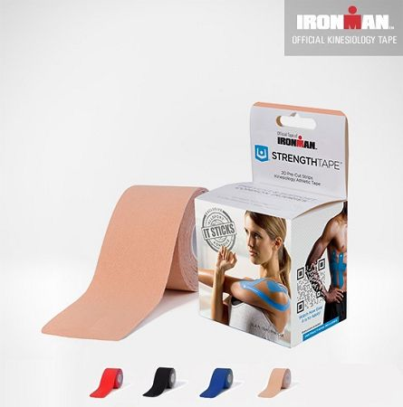 Free Shipping! Bulk Roll of Ironman Kinesiology Tape Red