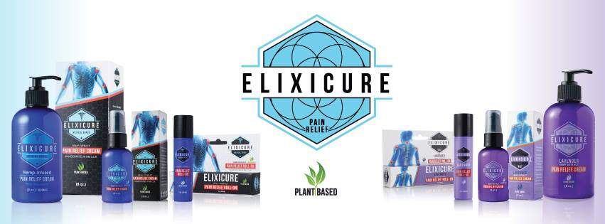 Elixicure Natural Plant-Based CBD Products For Pain Relief