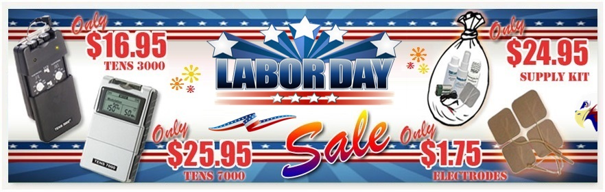 TENSPros Labor Day Sale 2017