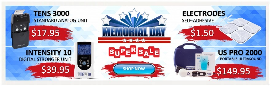 TENSPros | Pain Relief & Rehab Equipment | Memorial Day Specials