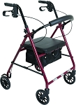 ProBasics Economy Steel Rollator with 6