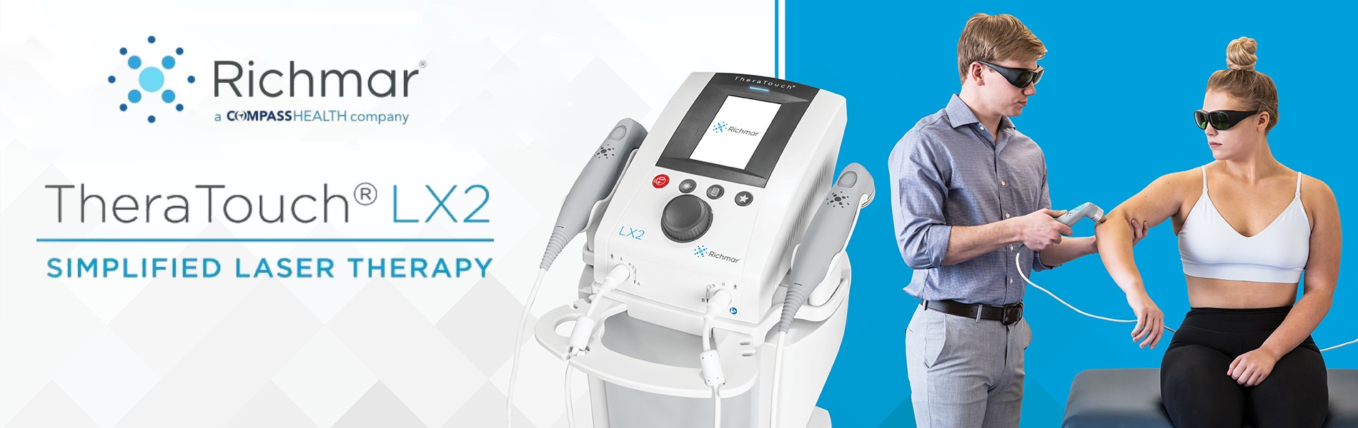 Richmar TheraTouch LX2 Cold Laser Therapy Unit