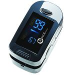 Two-Display Mode Finger Pulse Oximeter