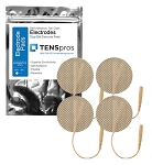 2'' Round Tan Cloth Electrode (TYCO Gel)