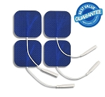 2'' x 2'' Premium Blue Cloth Electrodes - 4/pack