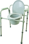 Viverity 3-in-1 Folding Commode