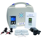 CareTec IV 4-in-1 Combo with TENS, EMS, Interferential, & Russian Stim + Free A/C Adapter Included