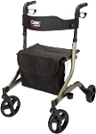 Carex Crosstour Rolling Walker (Lightweight & Easy to Use)