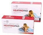 Thera-Med Professional Dual Moist-Dry Heating Pad with Remote