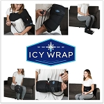 Icy Wrap Cold Compression Therapy Support Wrap For Pain & Recovery