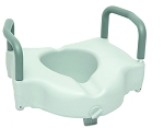 ProBasics Locking Raised Toilet Seat with Arms