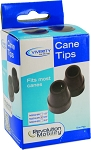Viverity Walking Cane Replacement Tips - Different Sizes Available