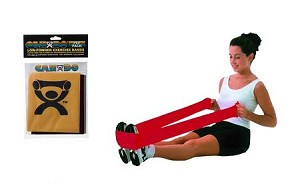 CanDo Low Powder Exercise Resistance Bands - 2 Different Strengths Available
