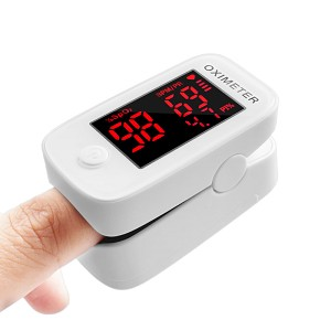 Medical Fingertip Pulse Oximeter With LED Display