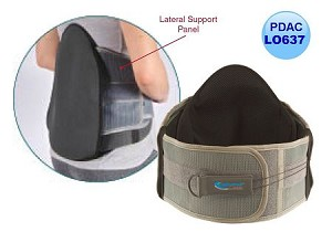STRENGTHBRACE Option 3 - AP/L Control Universal Back Brace with Adjustable Compression (Coded L0637)
