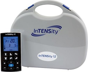 InTENSity 12 - Rechargeable TENS Unit with 12 Preset Body Icons & Multiple User Settings