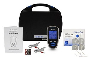NeoTek Digital TENS Unit Bundle With 10 Free Packs of Electrodes