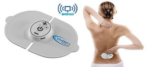 Viverity Wireless Digital Pain Relief Pad - Portable TENS Unit