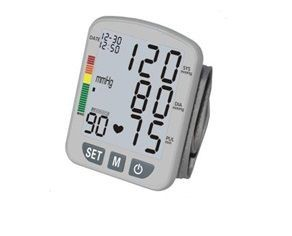[FT-B13W-V] XL-LCD 3-Color Digital Wrist Cuff Blood Pressure Monitor