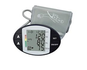 Premium Elite Compact Auto-Arm Blood Pressure Monitor