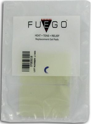 Fuego Re-usable Gel Electrode Pads