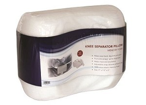 Memory Foam Knee Seperator Cushion with Strap