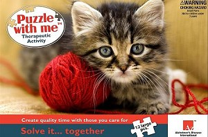 Alzheimers Puzzle - PRETTY KITTY