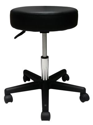 Pneumatic Air Shock Stool Without Backrest, Premium Comfortable Cushion