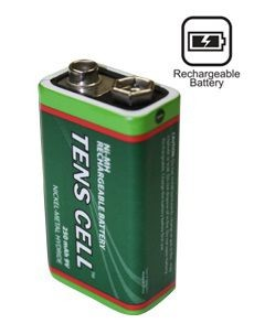 TENS Cell® 9V 250mAh NI-MH Rechargeable Battery ''Smart Choice''