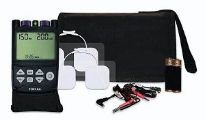 TENS AA - Large LCD Screen, 5 Treatment Modes, AA Batteries