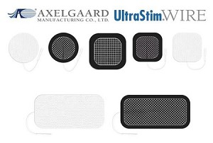 Axelgaard UltraStim Wire Electrodes With MultiStick Hydrogel
