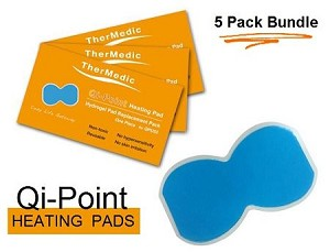 Qi-Point Replacement Heating Pads (5 Pack Bundle)