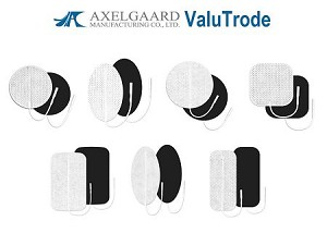 Axelgaard ValuTrode White Cloth Electrodes with MultiStick® Hydrogel