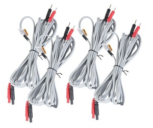 "110"" Lead Wires for InTENSity & Richmar TheraTouch EX4/CX4 Professional Electrotherapy Devices"